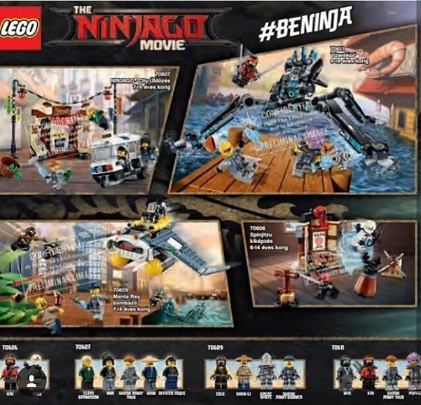 The Lego Ninjago Movie SET IMAGES LEAKED ...