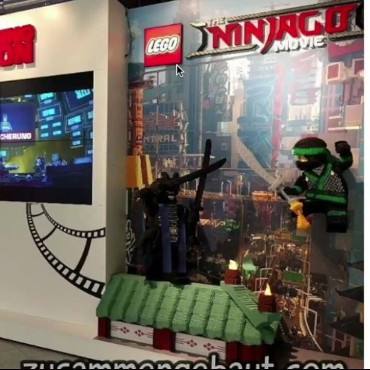 The Lego Ninjago Movie Lord garmadon and Lloyd minifigures | Lego ...