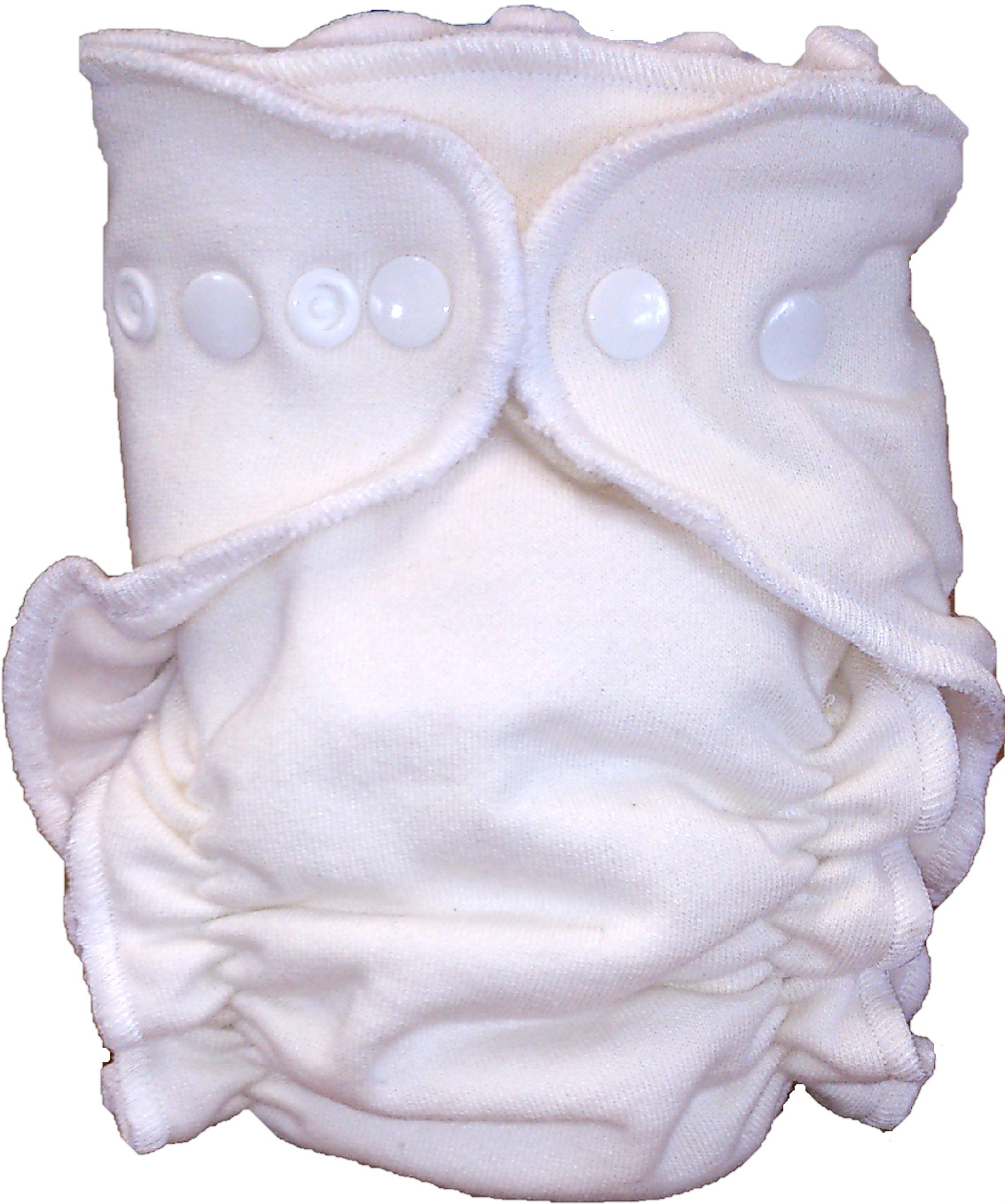 Itty Bitty Bums Natural Days Bamboo Fitted Nappy