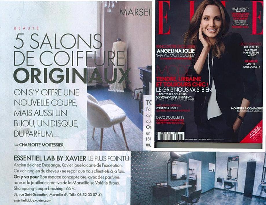 magazine elle decembre 2015 - Coloriste Marseille