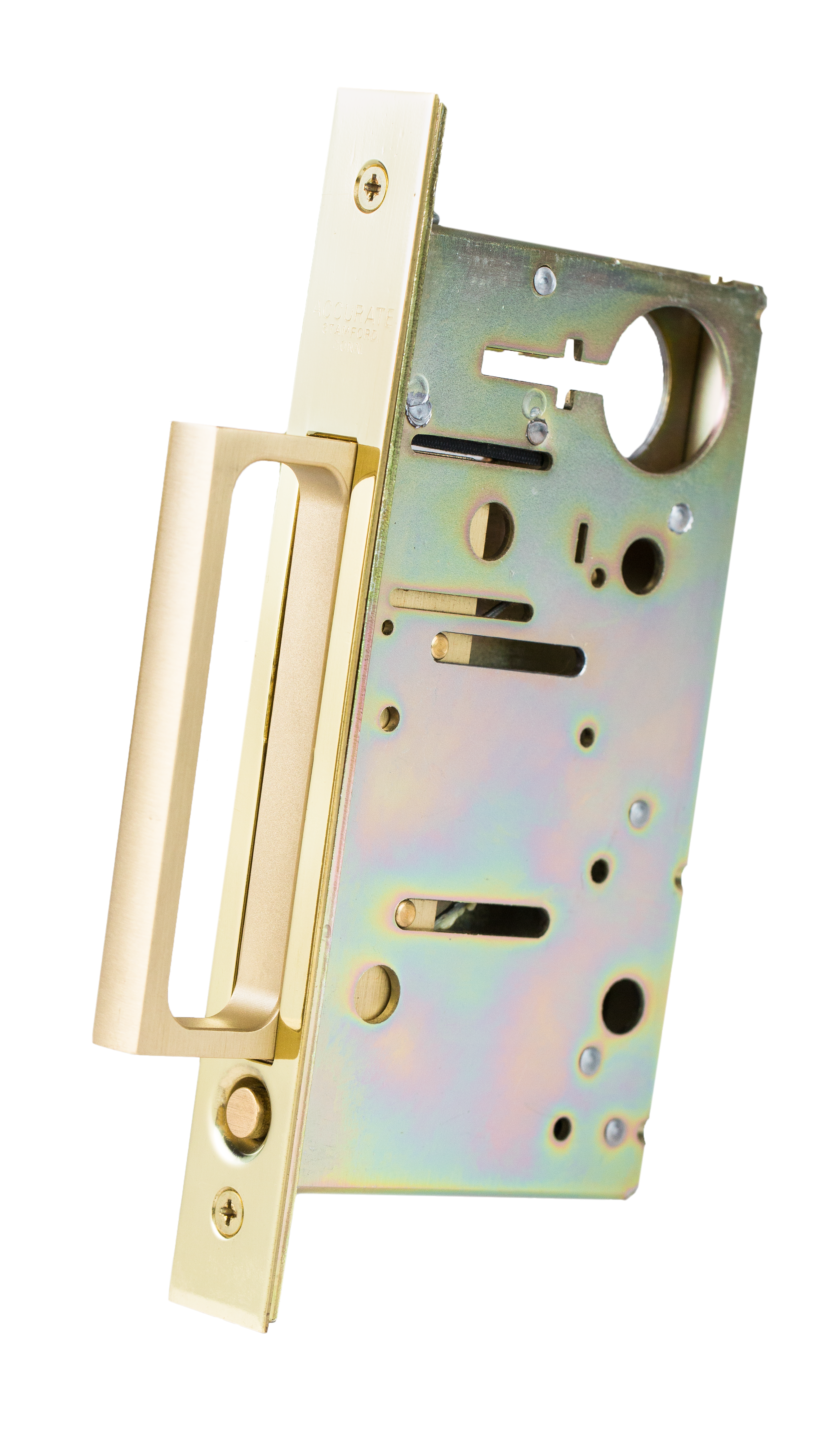 Accurate Lock And Hardware 2011pdp Spring Loaded Edge Pull
