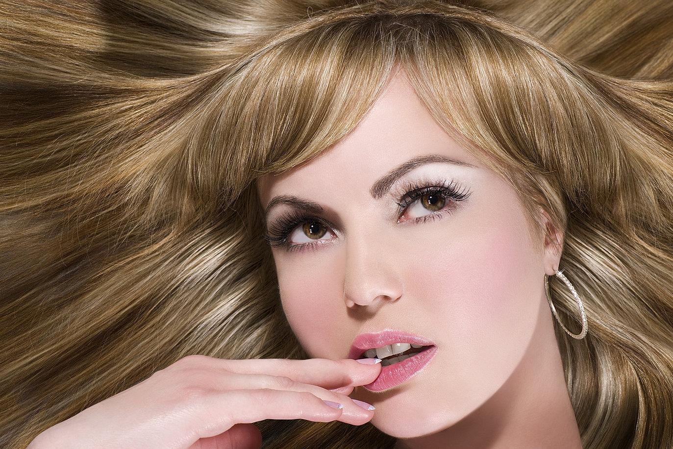Колорирование на русые волосы фото в домашних условиях