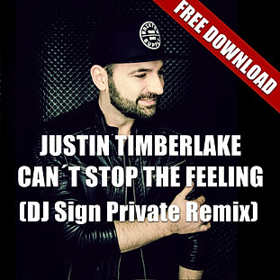 Can`t Stop The Feeling (DJ Sign Rmx)