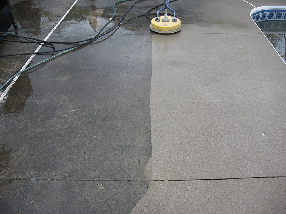 BEFORE CLEANING AND PROTECT - PATIO DOCTOR LLC CLEANING/SEALING