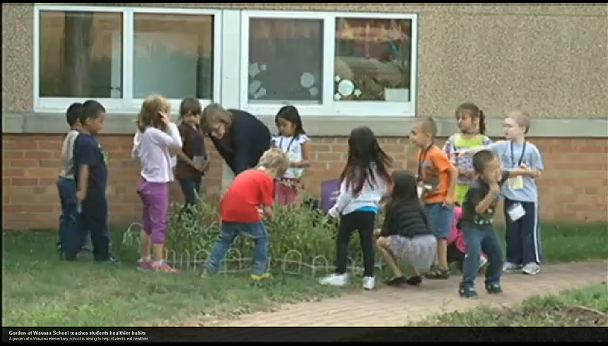 Garden at Wausau School teaches