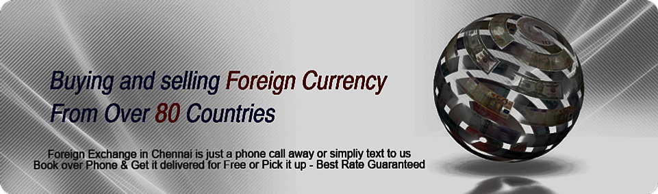 Best forex exchange rates in chennai