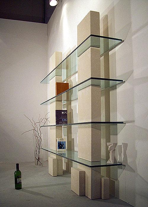 stonebreakers, tavoli in pietra e cristallo vetro