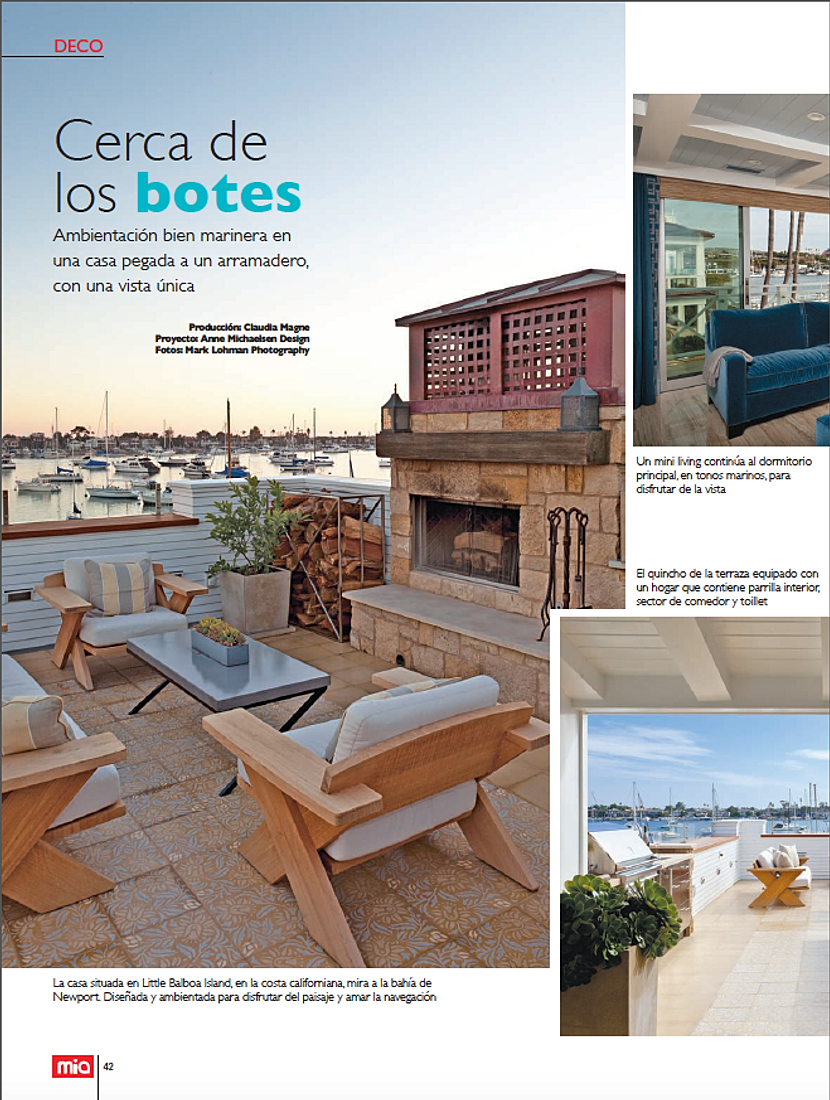 Mia Magazine: Cerca De Los Botes