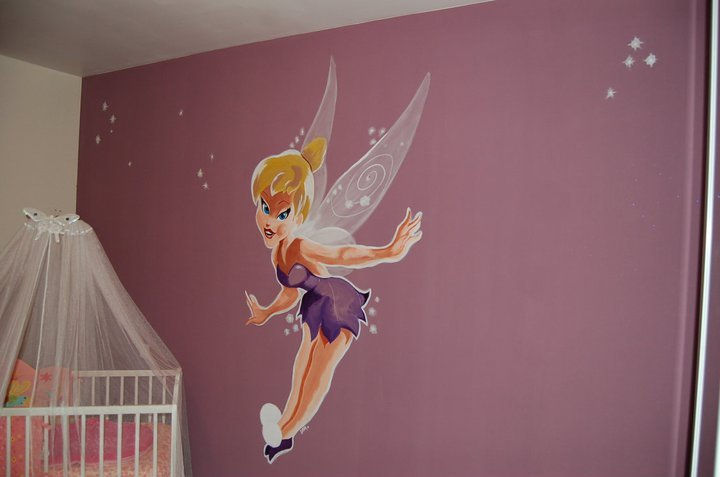 Decoration Chambre Fille Fee : Decoration chambre fille fee clochette