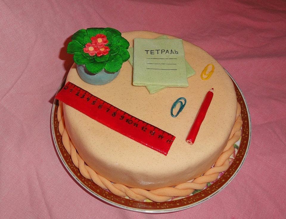 Картинки день рождения школа торты