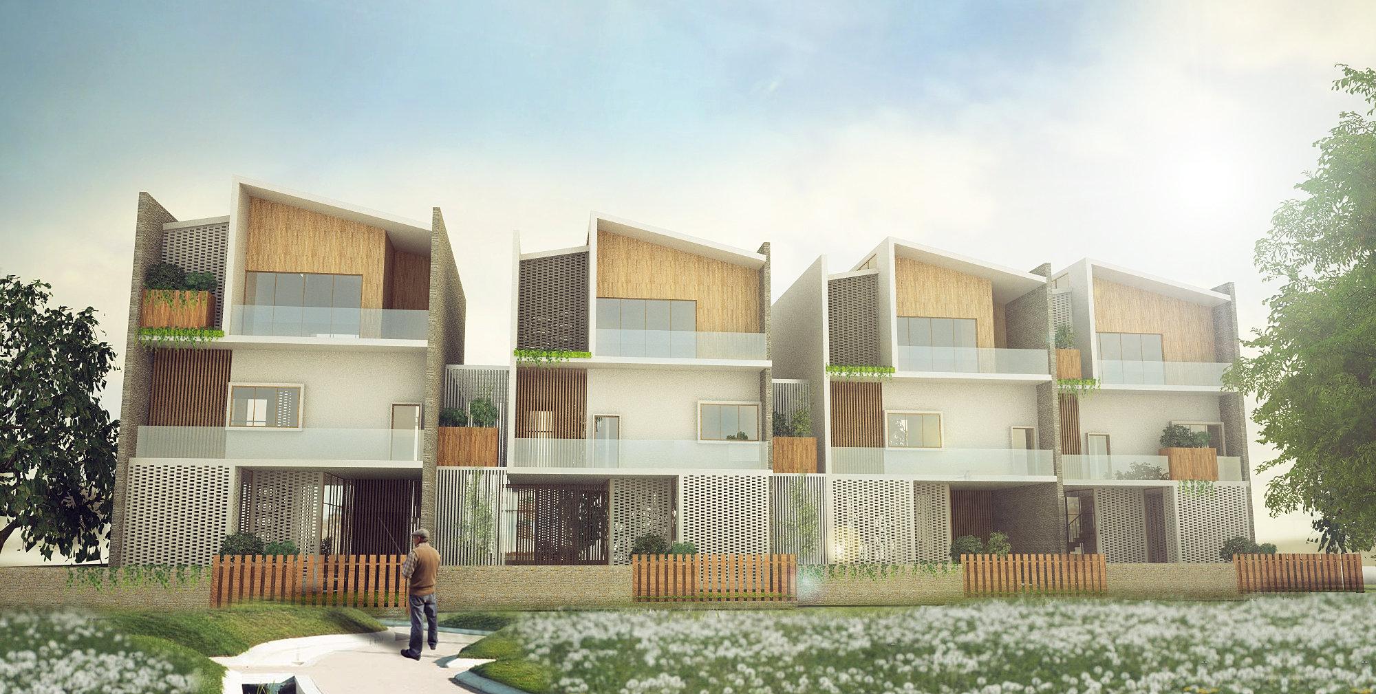 Antistatics Architecture And Design 非静止建筑设计 Ecological - Senior home design