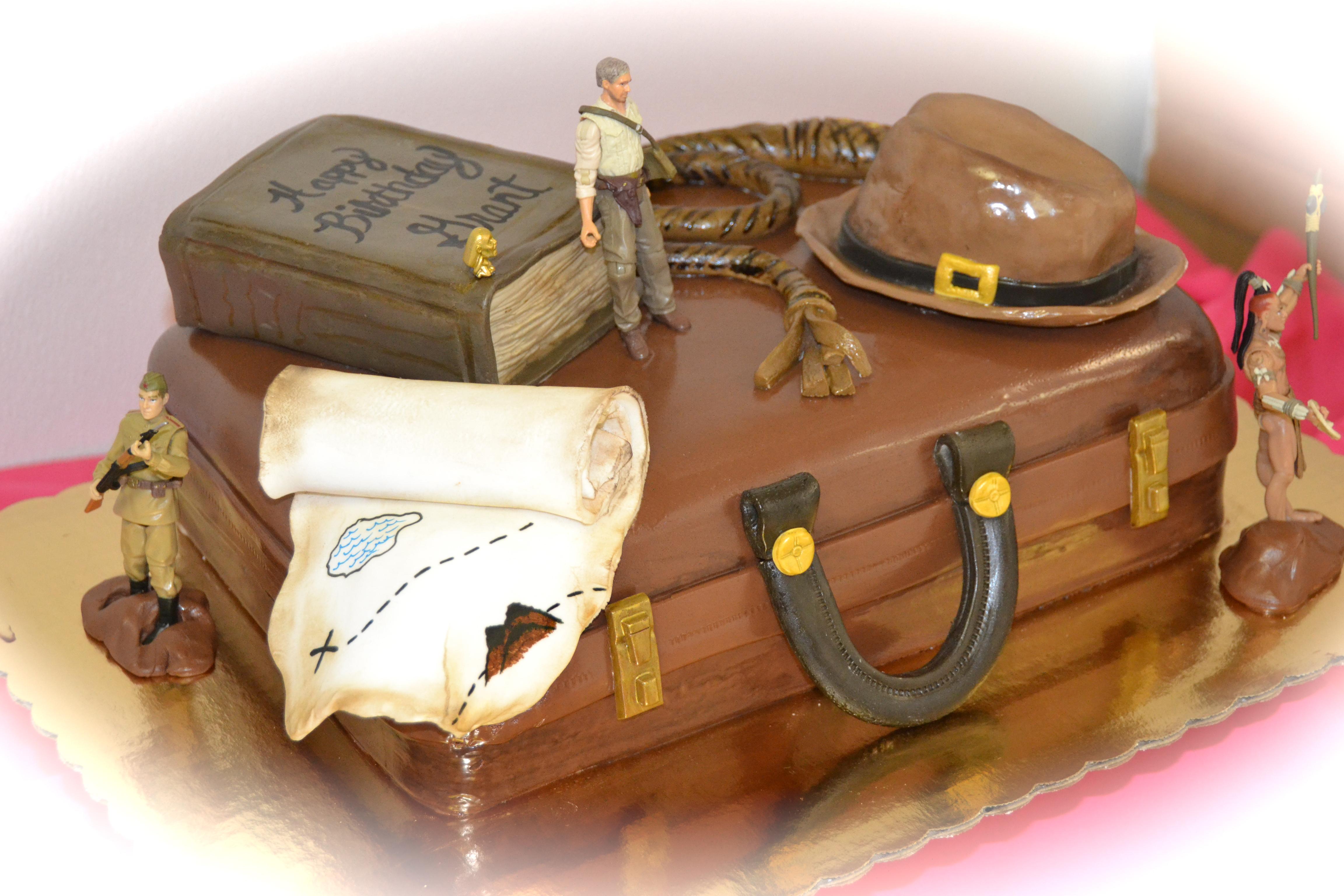 Indiana Jones Cake Pictures