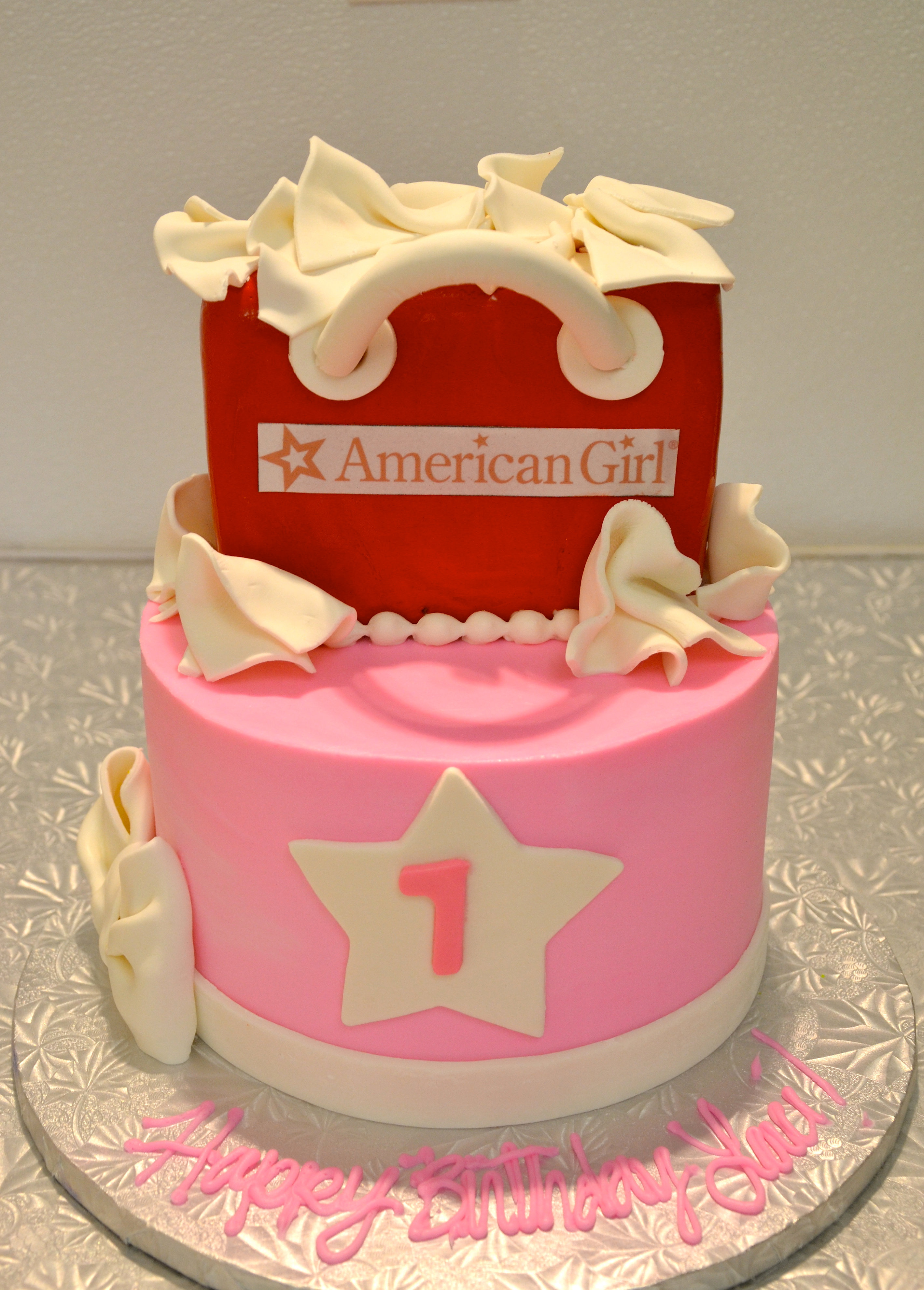 Girl  Cake Idea