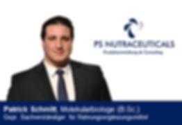 Patrick Schmitt Mainz PS Nutraceuticals