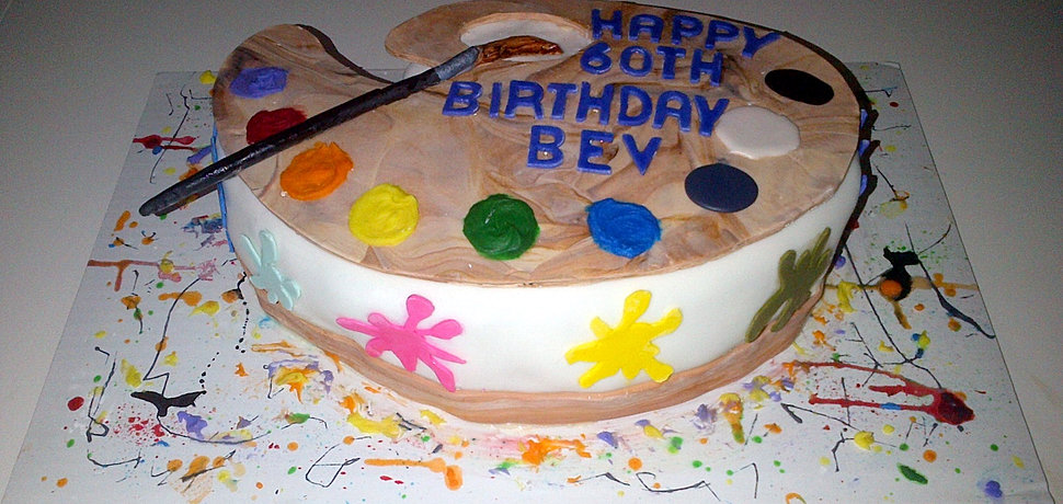 Artist Palette Cake Template : Custom Cakes Cookies and Cupcakes in the Greater Toronto Area