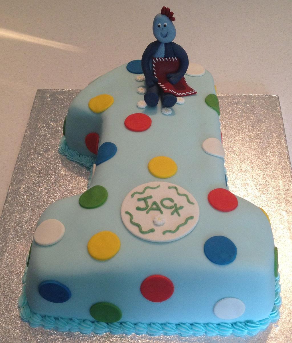Iggle Piggle 1st birthday cake