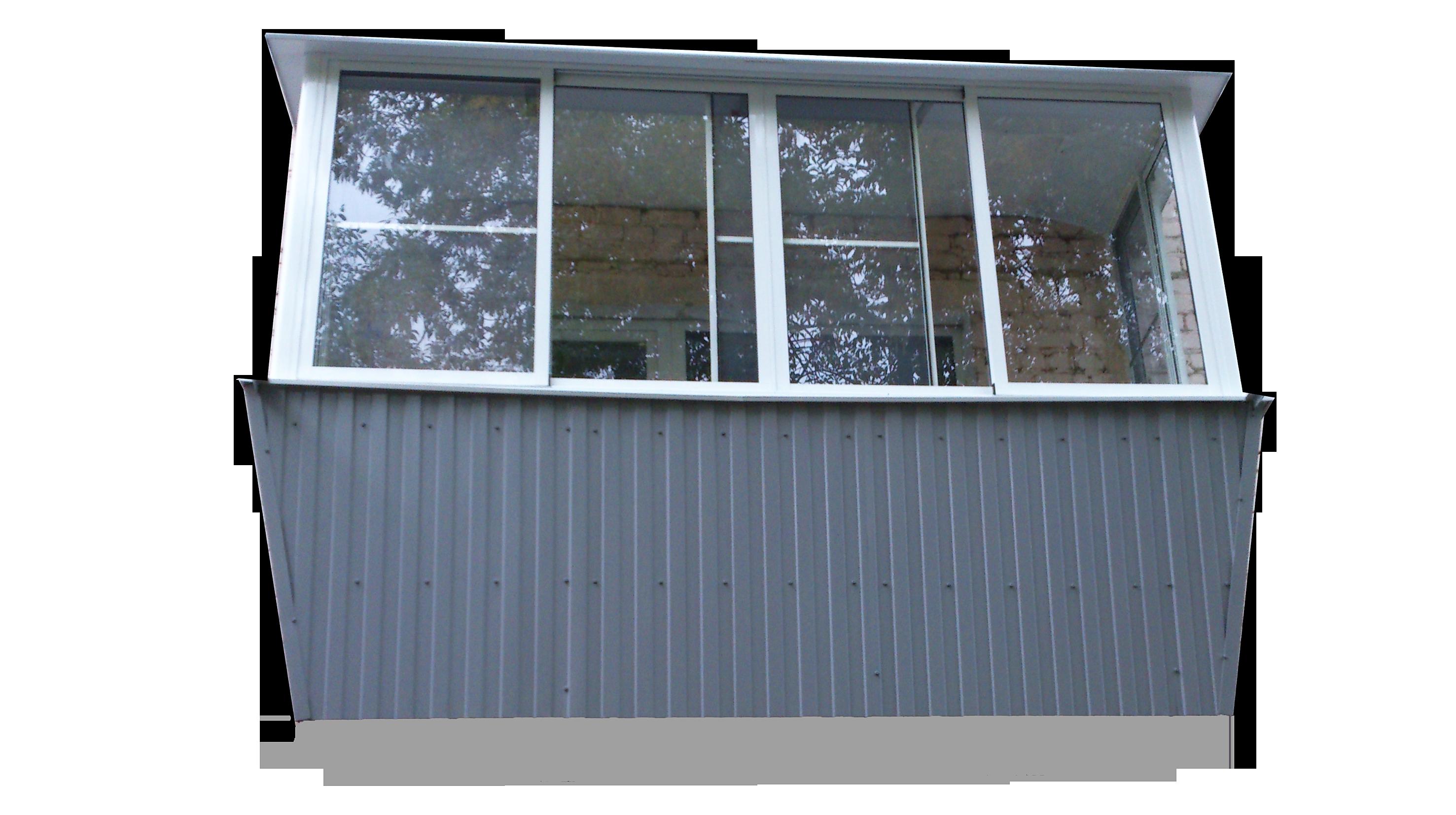 Установка и отделка балконов