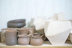 陶器マグカップ