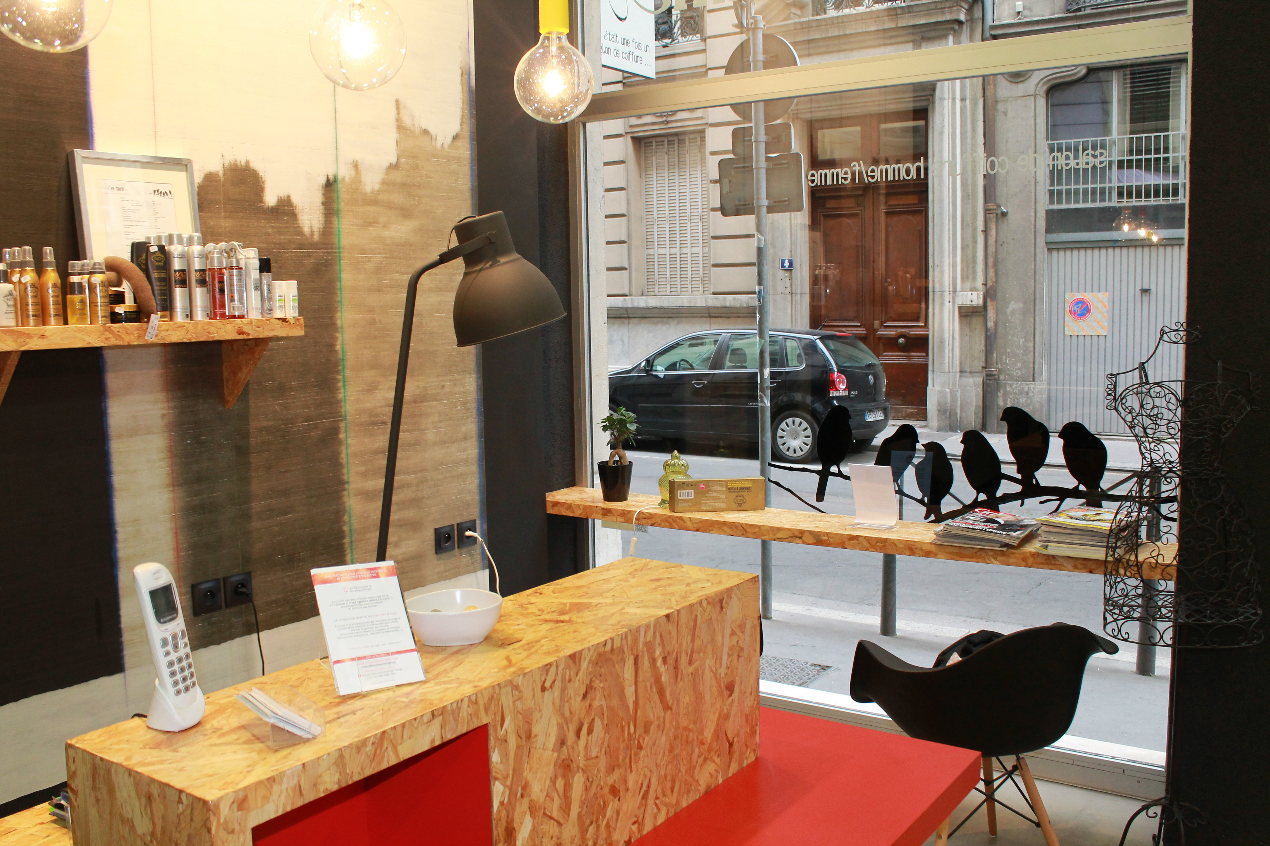 interior-design | Salon de coiffure Lyon 2