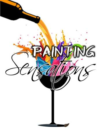 Painting sensations painting classes wine and paint for Wine paint party