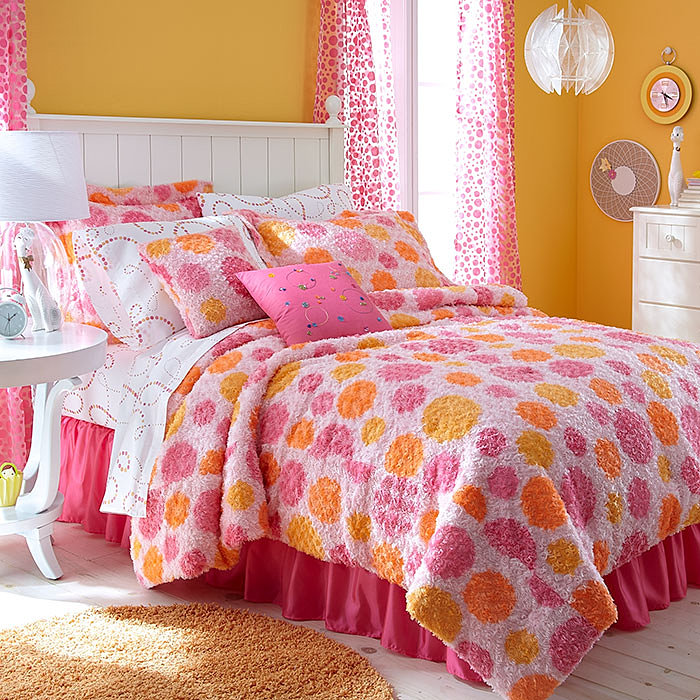 Madigan studios inc bedding furniture product - Orange and purple bedding ...