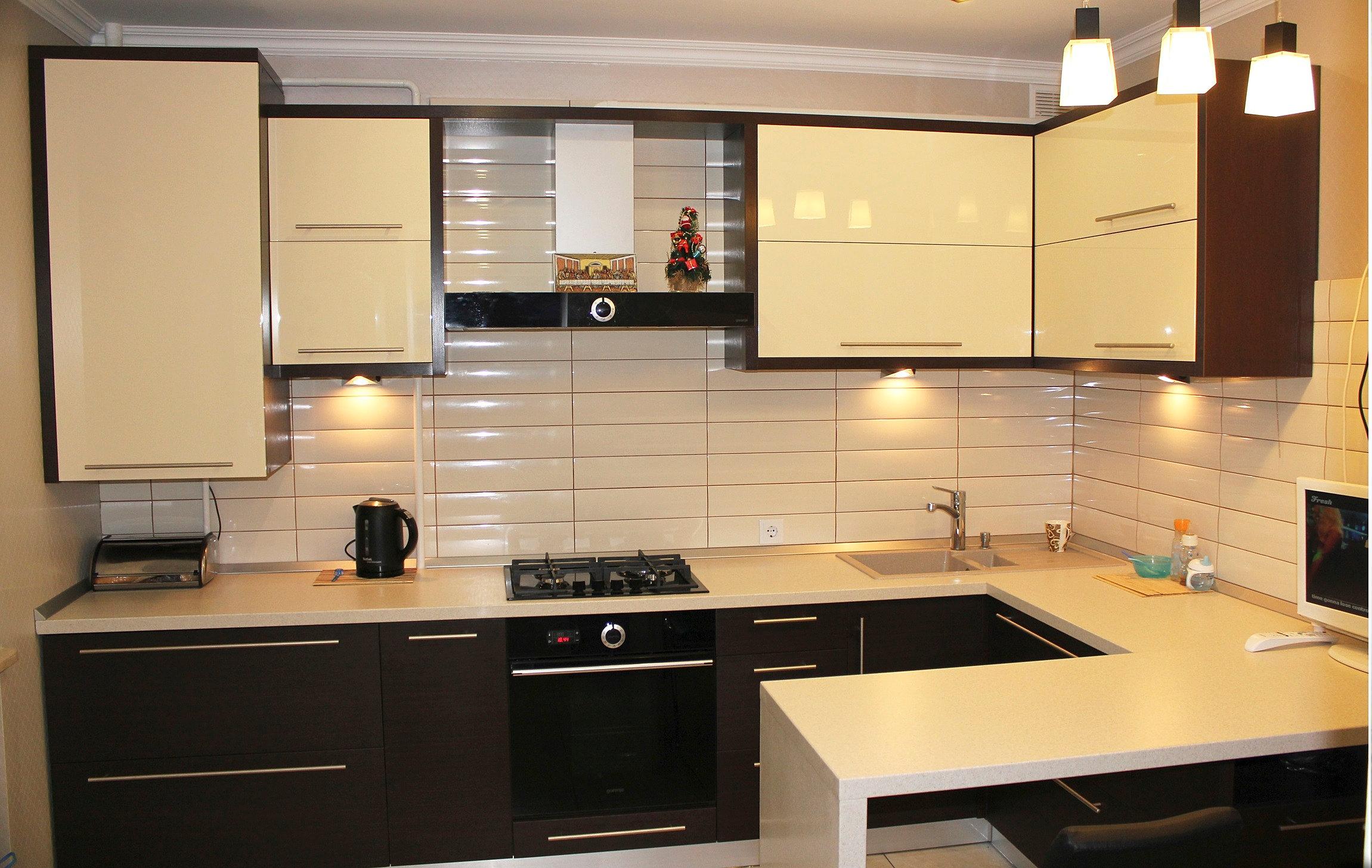 Дизайн кухни фото цена