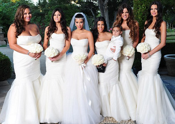White Bridesmaids Dress Trend Colorado Wedding Planner Coordinator
