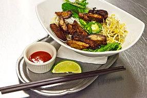Vietnamese crispy Pork Pho