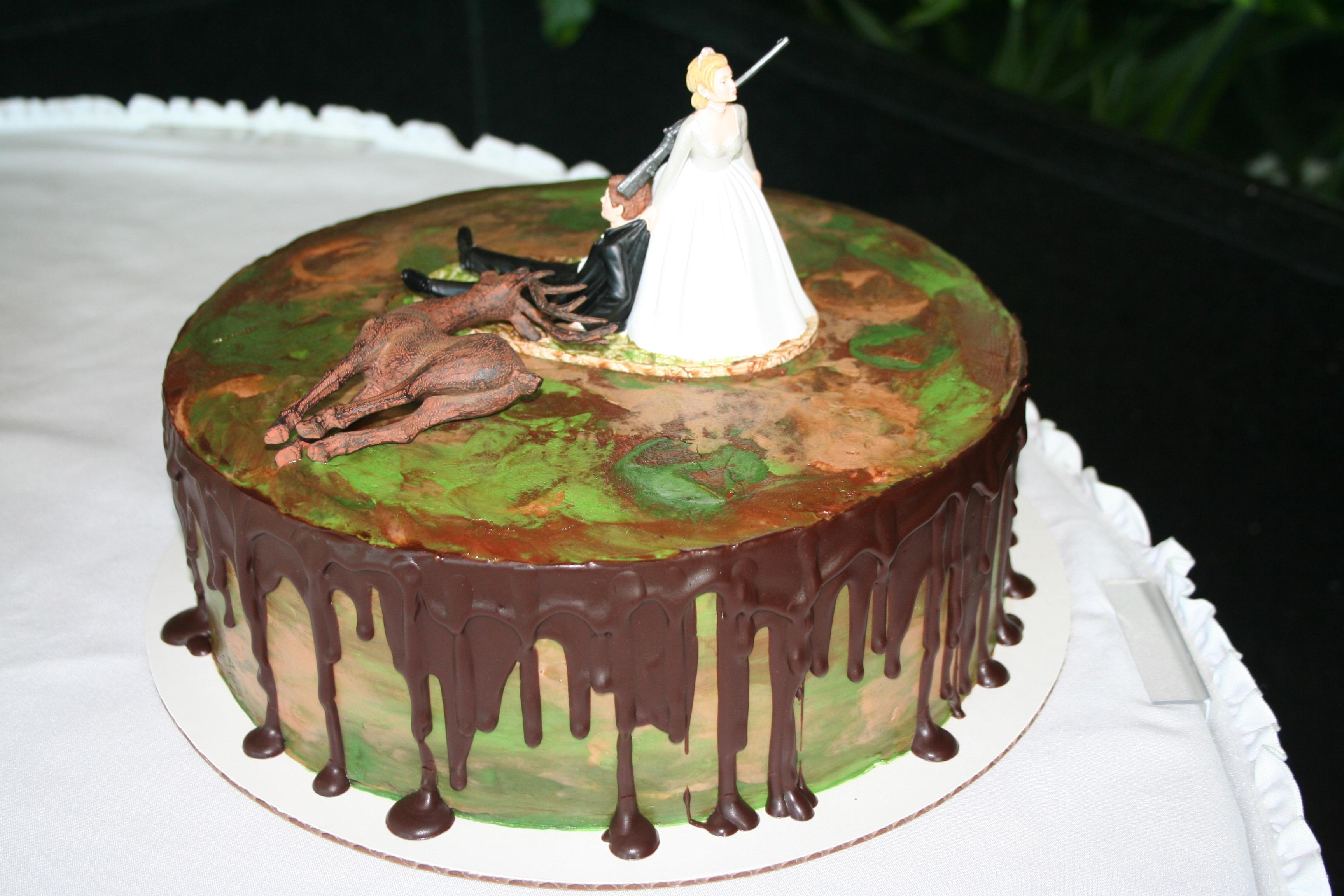 Deer Grooms Cake