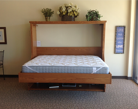 Folding bed desk bed desk plans with bookcases murphy bed for Spring hill designs bedroom furniture