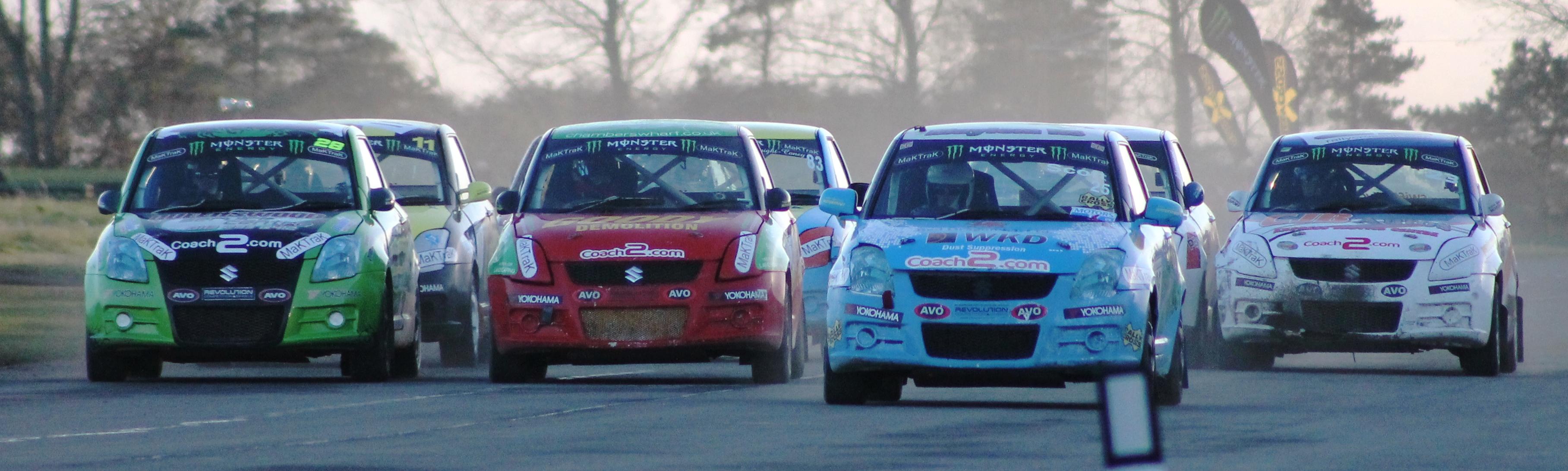 Swift Sport Rallycross at Croft