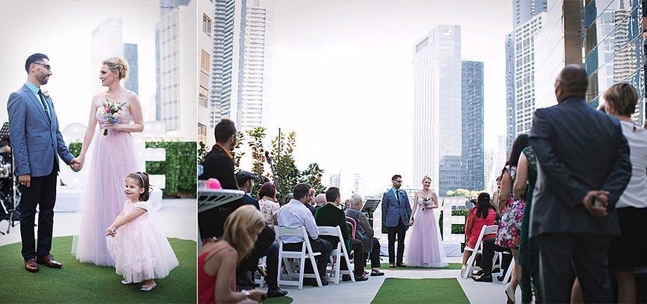 Tonic House Rooftop Wedding In Melbourne