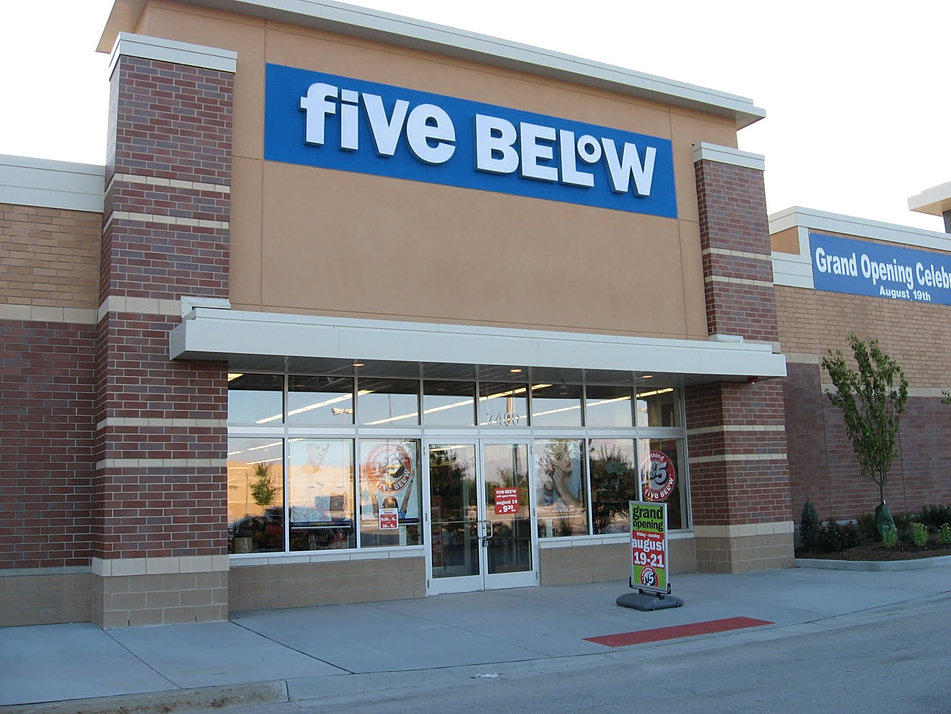 Five Below - Commercial Building Group Inc.