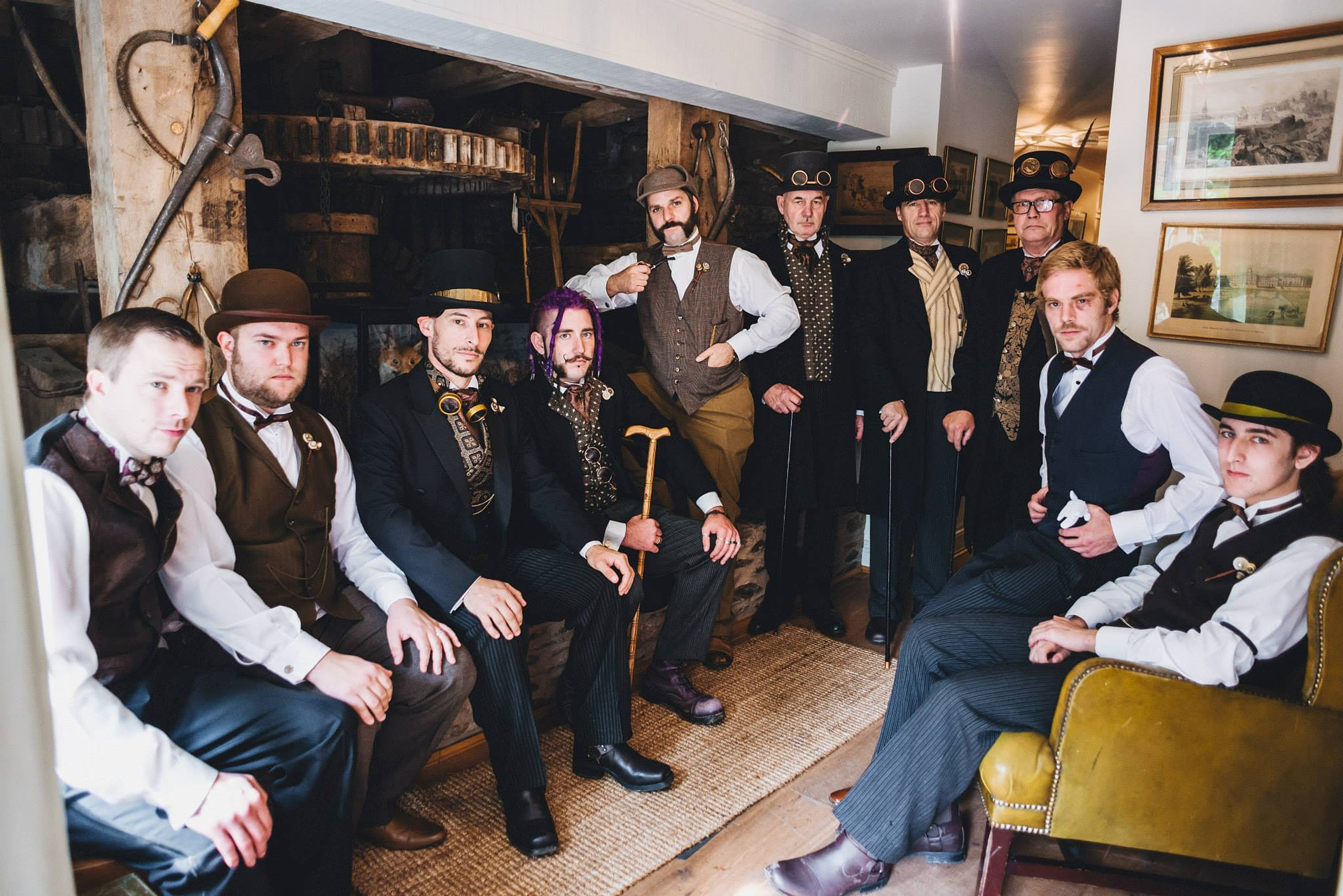 Bath Theatrical Costume Hire / Period themed Wedding photo gallery /