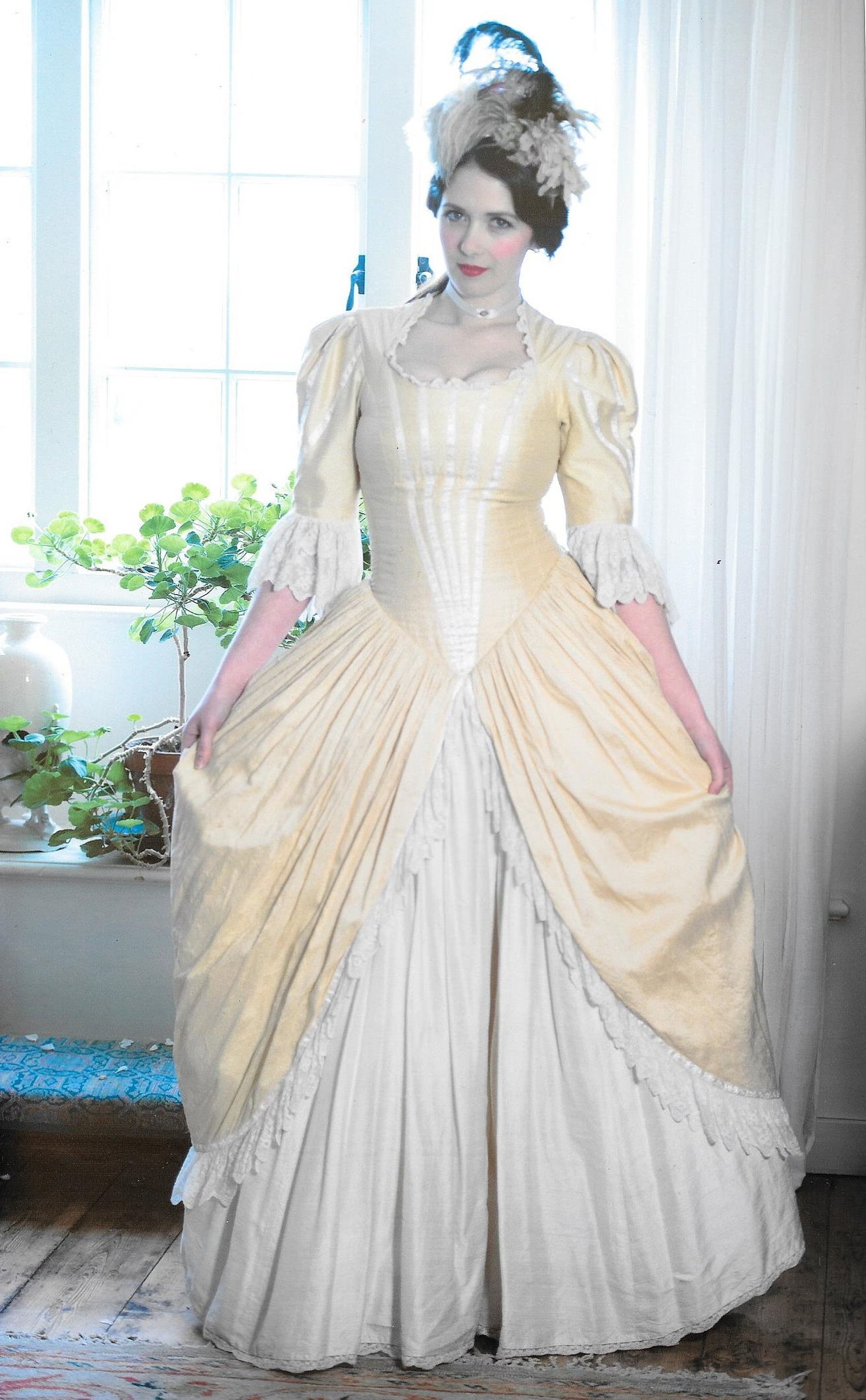 Nice Georgian Gown Picture Collection - Ball Gown Wedding Dresses ...