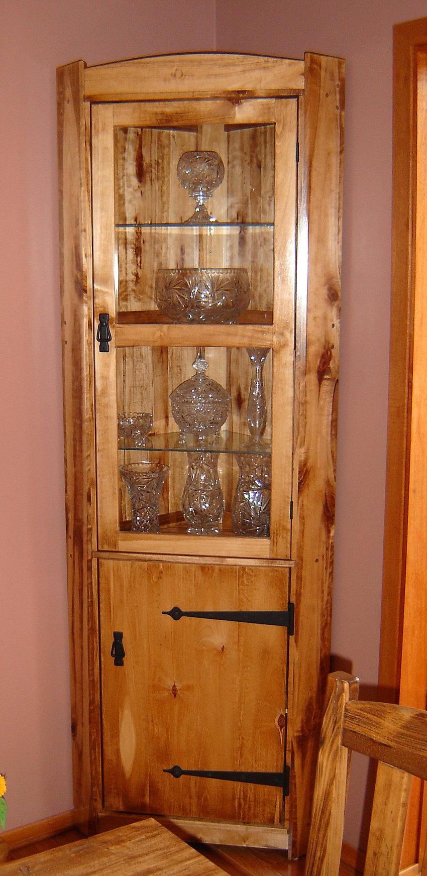 Rustic Curio Cabinet