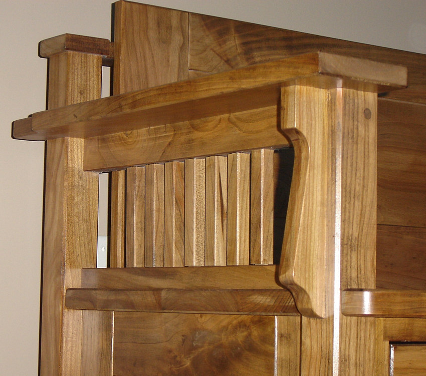 DW custom made handcrafted solid wood fine furniture