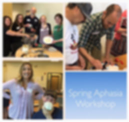 The Aphasia Network: Spring Aphasia Workshop, Pacific University