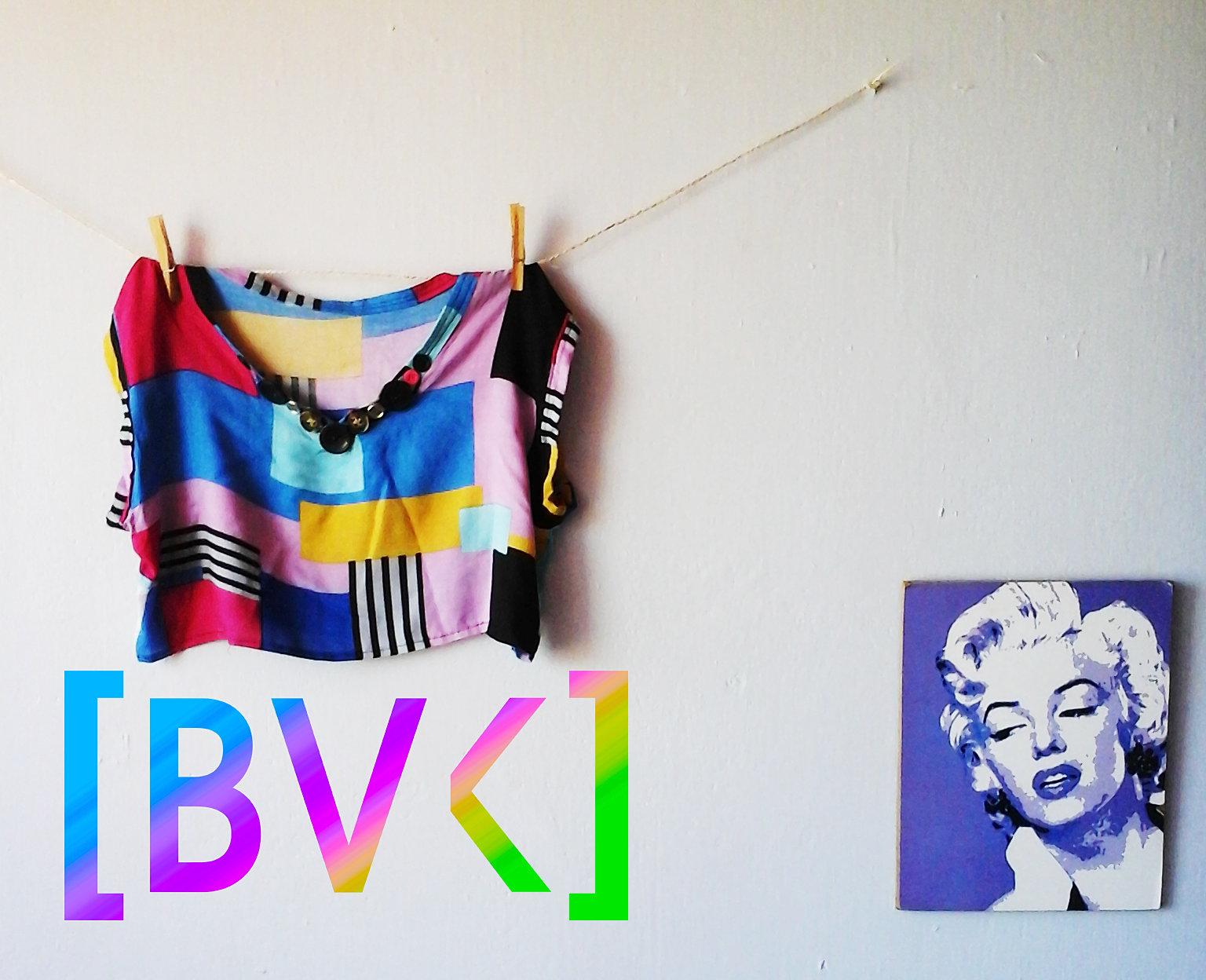 Fashion blog croptop de cuadros - Cuadros con botones ...