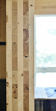 Cross Laminated Timber (CLT) /Massiv-Holz-Mauer (MHM)