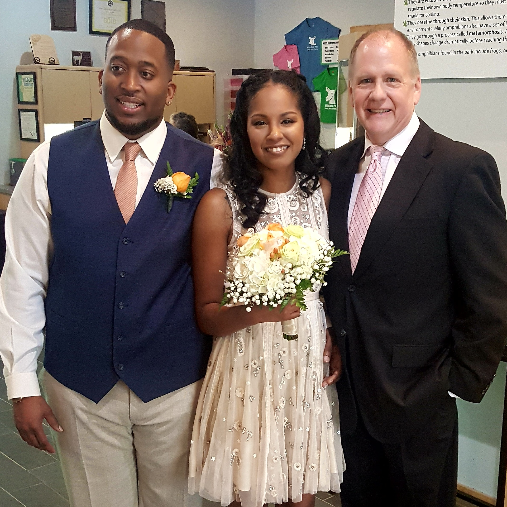 Raleigh Wedding Officiant