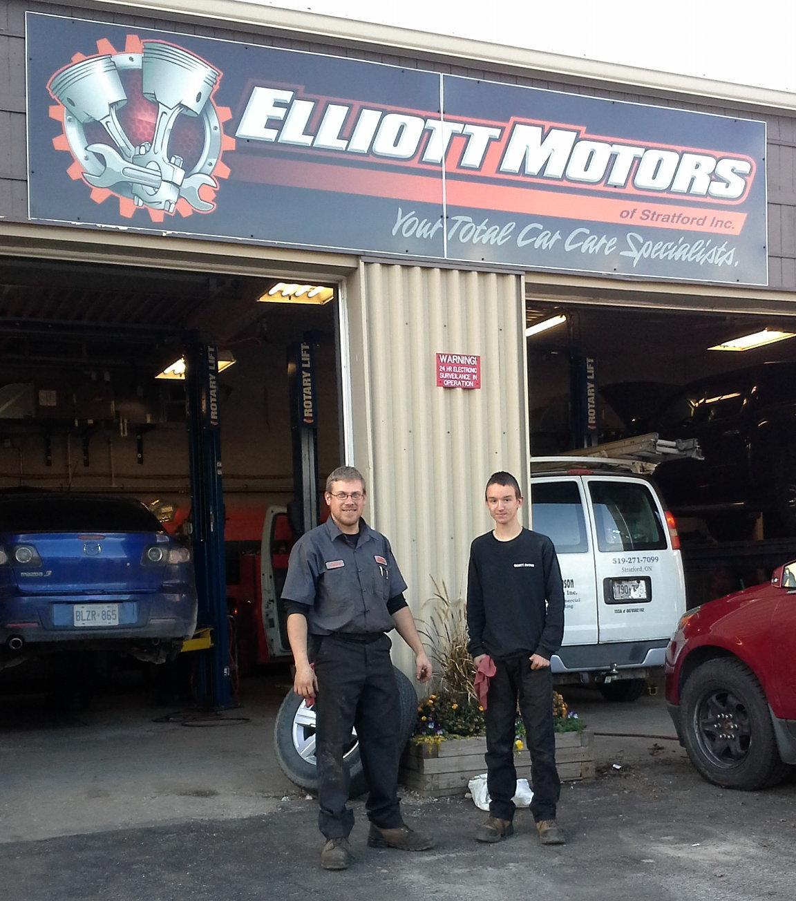 Stratford Northwestern Co Op Elliott Motors