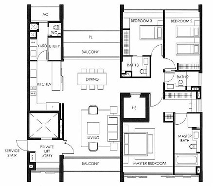 Layout Plans on 7 bedroom penthouse floor plans