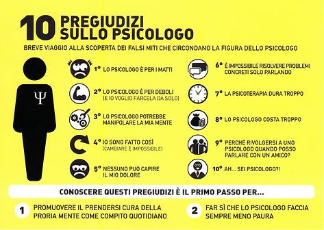 Risultati immagini per 10 pregiudizi sullo psicologo