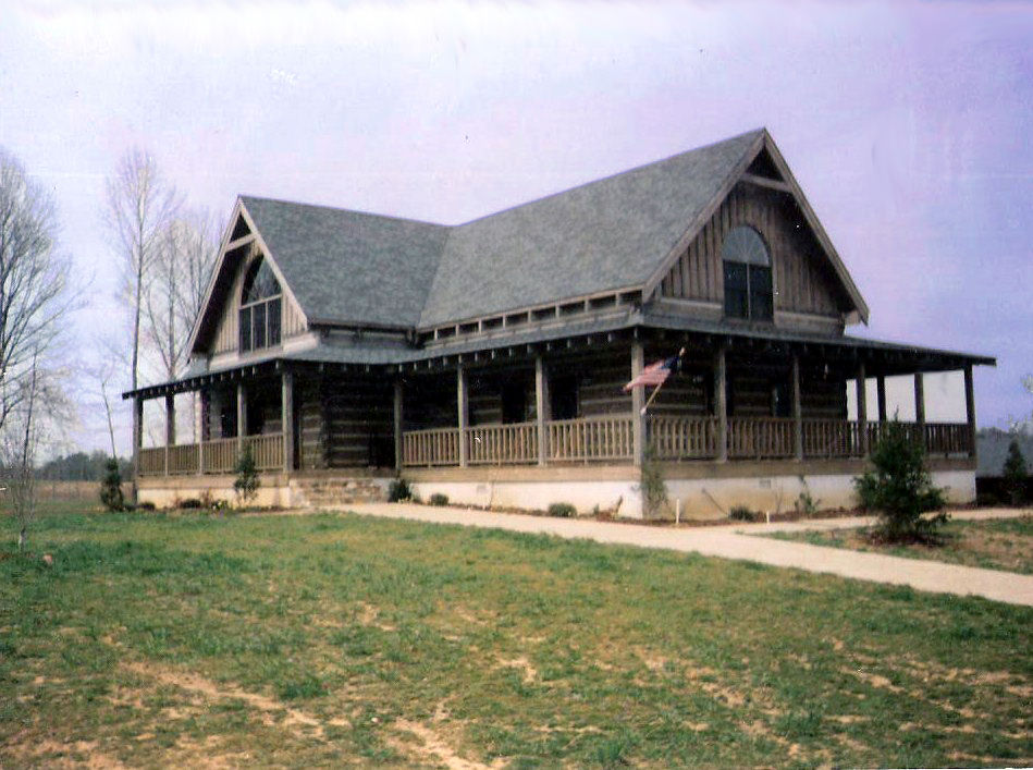 Marvin lenhart 39 s log cabins and homes quality construction for Log cabin builders in alabama