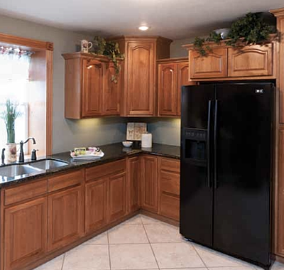 Hickory Cathedral Cabinets Discount Kitchen Cabinets