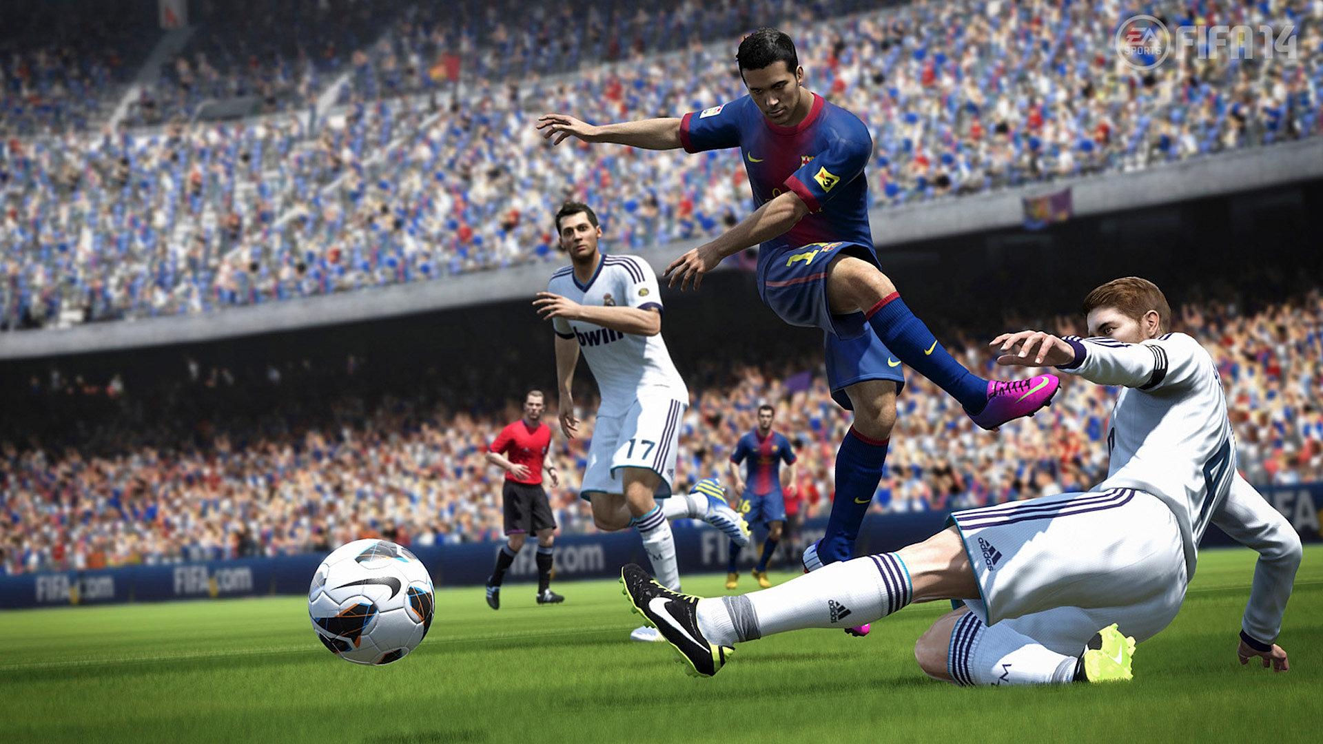 FIFA 14 (v.1.2.0.0) Ultimate Edition 2013 RUS RUS Multi,Repack от FileClub.