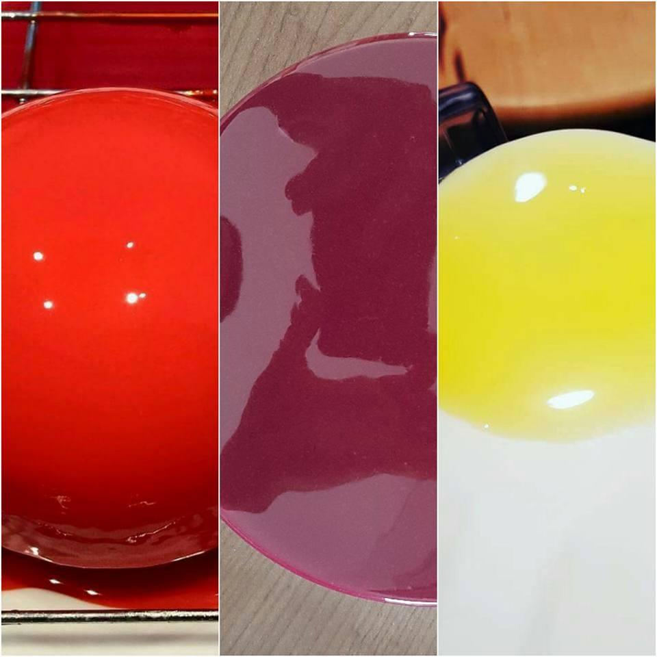 Gla age miroir bellouet fluide patisserie by chris - Glacage miroir sans glucose ...