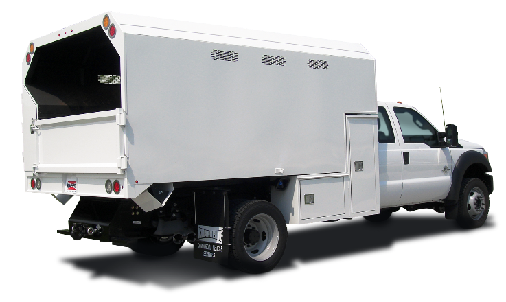 1 Ton Chipper Box Body : Special fleet forestry bodies