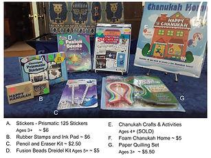 Chanukah Summary (see individual pics).j